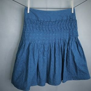 Banana Republic Skirt Size 2 Teal Blue Womens